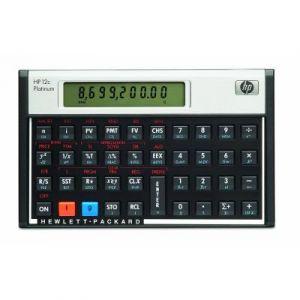 HP F2231 - 12c Platinum Calculatrice financière Noir