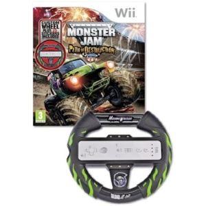 Monster Jam : Path of Destruction + volant [Wii]