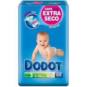 Dodot Couche taille 3 (4-10 kg) - paquet de 66