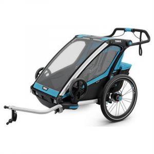 Thule Chariot - Poussette Remorque Sport 2 Bleu Noir -