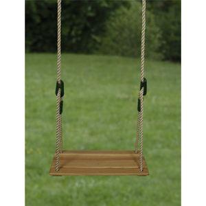 Soulet Balançoire siège en bois pour portique 2,50 / 3,50 m