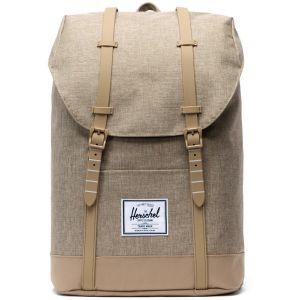 Herschel Retreat Backpack 19,5l, kelp crosshatch/kelp Sacs à dos loisir & école