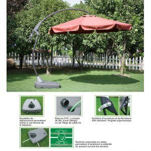 Garden Green PM5118 - Parasol déporté Ø 300 cm