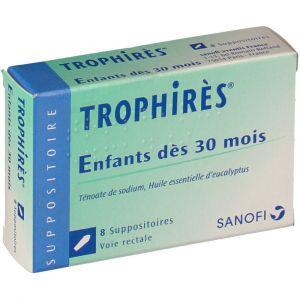 Sanofi Trophirès Enfants - 8 Suppositoires