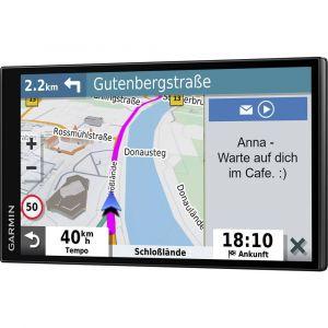 Garmin DriveSmart 65 - GPS Auto - 6,95 pouces - Cartes Europe 46 pays – Cartes, Trafic et Zones de Danger gratuits - Très grand écran lumineux - cartographie 3D - Appels mains libres