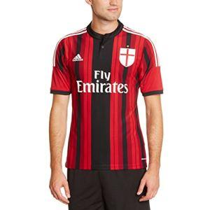 Adidas D87224 - Maillot de foot à domicile Milan AC 2014 / 2015 homme