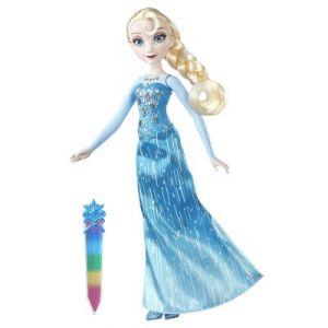Hasbro Poupée Elsa aux cristaux brillants La Reine des Neiges Frozen