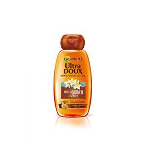 Garnier Shampoing Ultra Doux Huile de Monoi et Néroli pour cheveux exposés au soleil (Lot de 4)