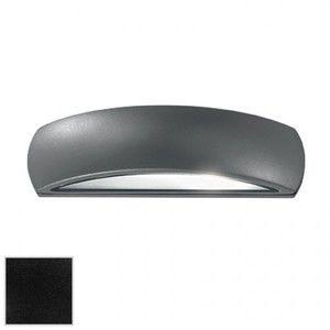 Image de Ideal lux 092201 - Applique extérieure design Giove noir aluminium