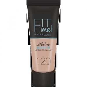 Maybelline Fit Me! Matte and Poreless Foundation 120 Classic Ivory