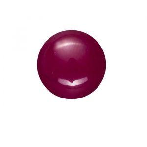 Panduro Perle jade Malaisie mauve - 8 pieces - Sachet de 8 Perles en jade de Malaisie, couleurs denses - Diamètre : 8 mm Trou 2 mm -