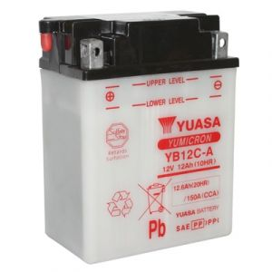 Yuasa Batterie moto YB12C-A