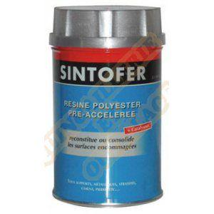 Sinto Résine polyester pré-accélérée Sintofer Bidon de 1000 ML - 40001