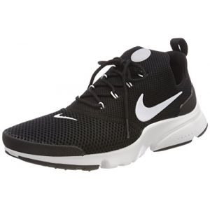 Nike Presto Fly, Baskets Homme, Noir White-Black 002, 45 1/3 EU