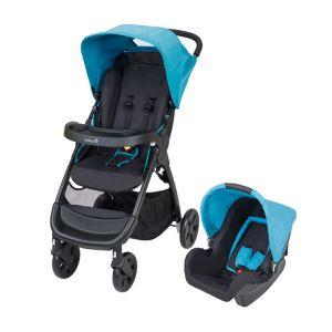 Safety 1st Duo Amble - Combiné poussette avec siège auto groupe 0+