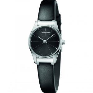 Calvin Klein Quartz Montre avec Bracelet en Cuir K4D231CY
