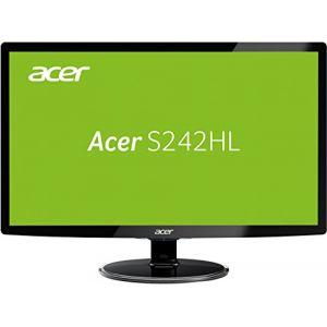 """Acer S242HLCbid - Ecran LED 24"""""""