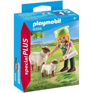 Playmobil 9356 - Fermière avec moutons