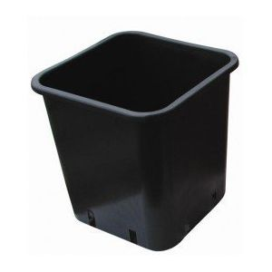 Cis Pot carré noir 36.5X36.5X36 - 30L PRODUCTS