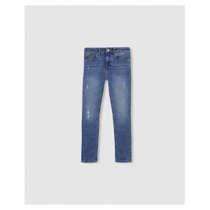Tommy Hilfiger Jeans skinny KG0KG04171 bleu - Taille 6 ans,8 ans,10 ans,14 ans
