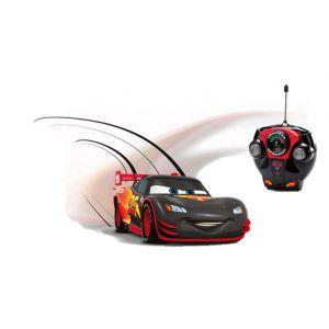 Majorette Voiture radiocommandée Cars : Flash McQueen Carbone 1/24