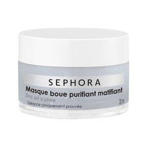 Sephora Masque boue purifiant matifiant Zinc et cuivre