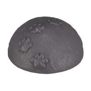 Trixie Dôme tombale dôme avec pattes - Ø15x8cm - Gris - Pour chien et chat