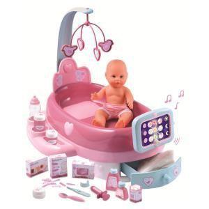 Smoby Nursery électronique et poupon Baby Nurse