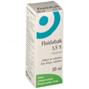 Théa Fluidabak 1,5 % - 10 ml COLLYRE