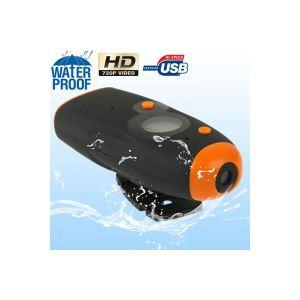 Yonis Y-cse11 - Caméra sport embarquée étanche 10 mètres waterproof fixation casque