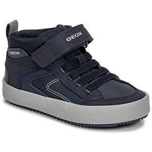 Geox Baskets montantes enfant J ALONISSO BOY bleu - Taille 24,25,26,27