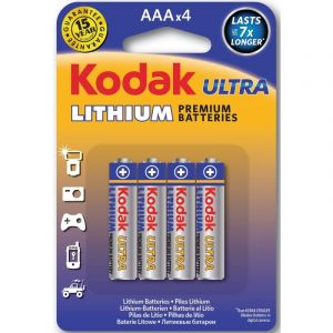Kodak Piles Lithium Ultra LR3 - Vendu par 4