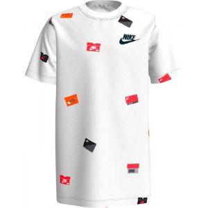 Nike T-shirts Sportswear Graphic - White / White - M