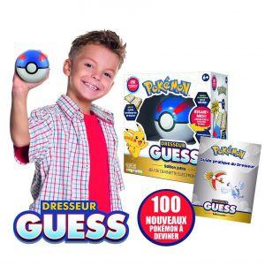 Bandai Poké Ball interactive à reconnaissance vocale Dresseur Guess Johto - Pokémon