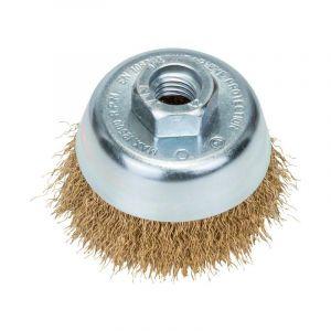 Bosch Brosse à boisseau fils ondulés Diamètre 70 mm M14