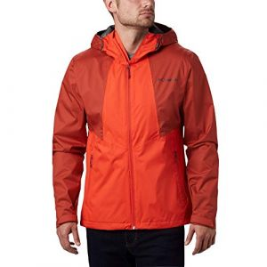 Columbia Inner Limits II Veste de Pluie Homme, Mountain Red, Red Jasper, FR : M (Taille Fabricant : M)