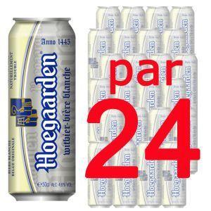 Hoegaarden Bière blanche Belge originale (24 x 50 cl) 4.6°