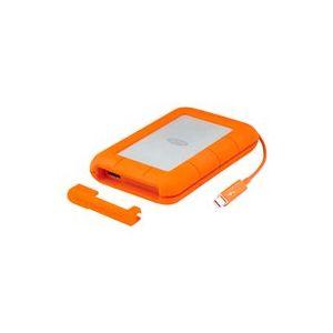 """Lacie STEZ500400 - Disque SSD 500 Go externe 2.5"""" USB 3.0 Thunderbolt AES 256 bits"""