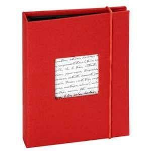 Panodia Album photo pochettes Linéa rouge 36 photos 11.5 x15 cm