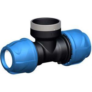 Gf piping systems Té de transition 90° - iJoint - Ø 25 mm taraudage femelle 3/4