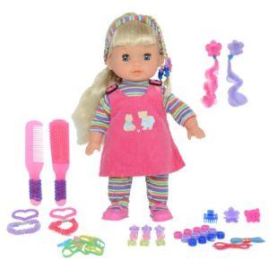 Image de Calinou Poupée avec accessoires de mode rose