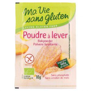 Ma vie sans gluten Poudre à lever bio en sachets de 4 x 10 g