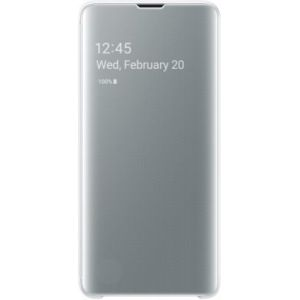 Samsung Etui S10 Clear View cover Blanc