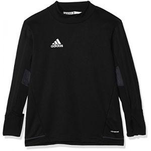 Adidas T-shirt Haut d'entraînement Tiro17 Noir - Taille 11 / 12 ans,13 / 14 ans,15 ans,5 / 6 ans,7 / 8 ans,9 / 10 ans