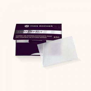 Yves Rocher Carnet de papiers matifiants teint