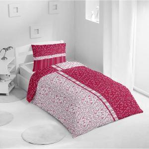 taie d 39 oreiller framboise comparer 48 offres. Black Bedroom Furniture Sets. Home Design Ideas