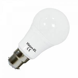 Vision-El Ampoule Led 12W (110W) B22 bulb opale Blanc chaud 3000°K