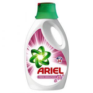 Ariel Lessive liquide Sensations de fraîcheur 34 lavages