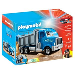 Playmobil 5665 City Action - Camion de chantier américain
