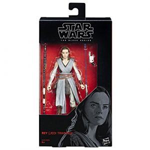 Hasbro Star Wars Black Series - Figurine Rey 15cm